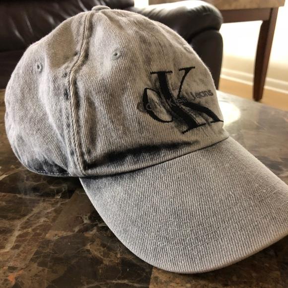 a76ac1db46d95 Calvin Klein Jeans Other - Calvin Klein Stonewashed Denim Hat
